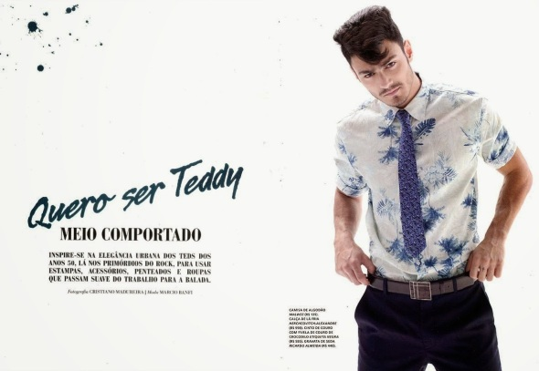Luis Coppini + Gabriel Burger @ L'Officiel Hommes Brasil #1 by Cristiano Madureira 01