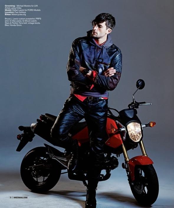 Rafael Lazzini @ Inked Magazine by  Micharl Dwornik 03