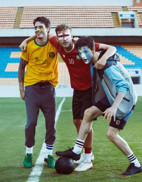 Martin Conte + Pedro Senger + Franklin Rutz + Bruno Ventura @ GQ Brasil by Yossi Michaeli 02