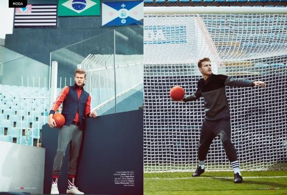 Martin Conte + Pedro Senger + Franklin Rutz + Bruno Ventura @ GQ Brasil by Yossi Michaeli 09