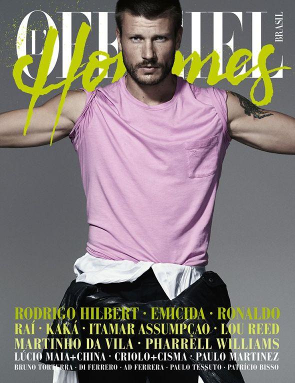 Rodrigo Hilbert @ L'Officiel Hommes Brasil #02 by Nicole Heiniger