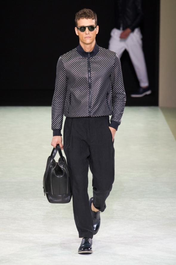 Alex Cunha @ Ermanno Scervino SS15 Milano Moda Uomo