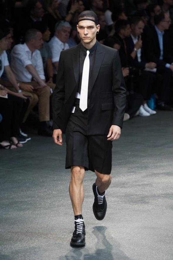 Alex Cunha @ Givenchy SS15 Paris Prêt-à-Porter