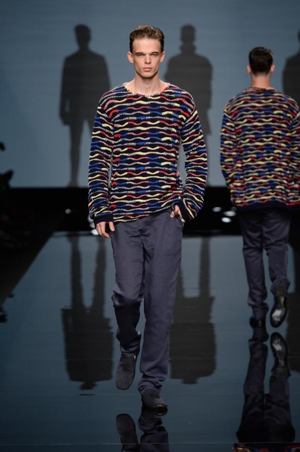 Andre Bona @ Ermanno Scervino SS15 Milano Moda Uomo