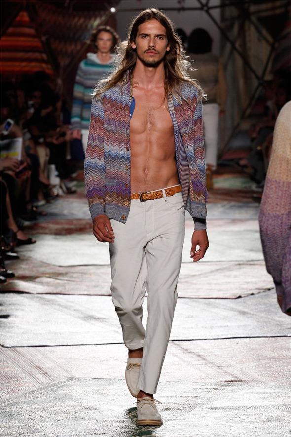 Bruce Machado @ Missoni SS15 Milano Moda Uomo