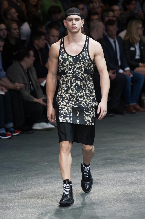 Caian Maroni @ Givenchy SS15 Paris Prêt-à-Porter