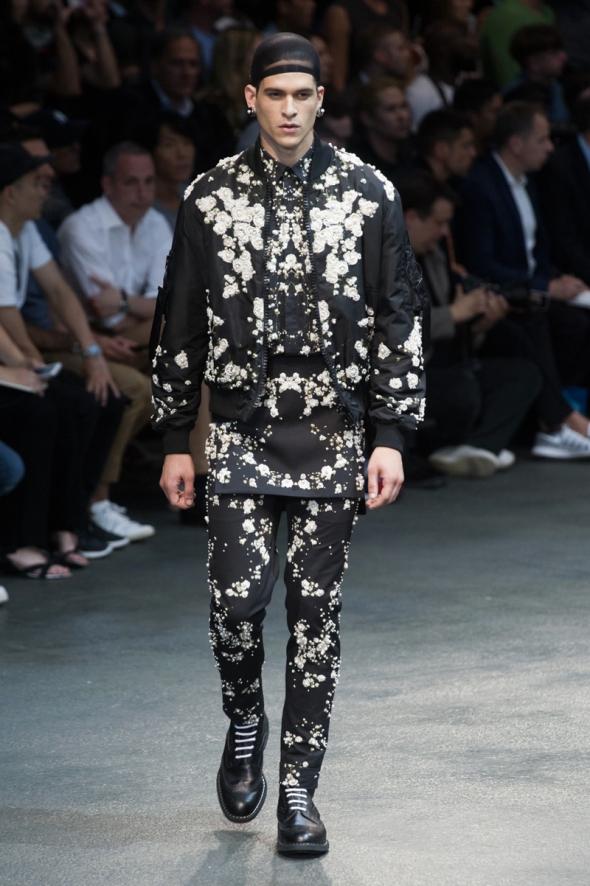 Diego Fragoso @ Givenchy SS15 Paris Prêt-à-Porter