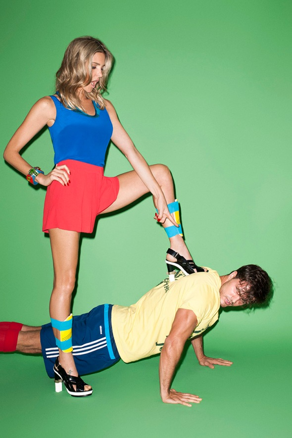 Diego Miguel + Fernanda Lima @ Glamour by Terry Richardson 01