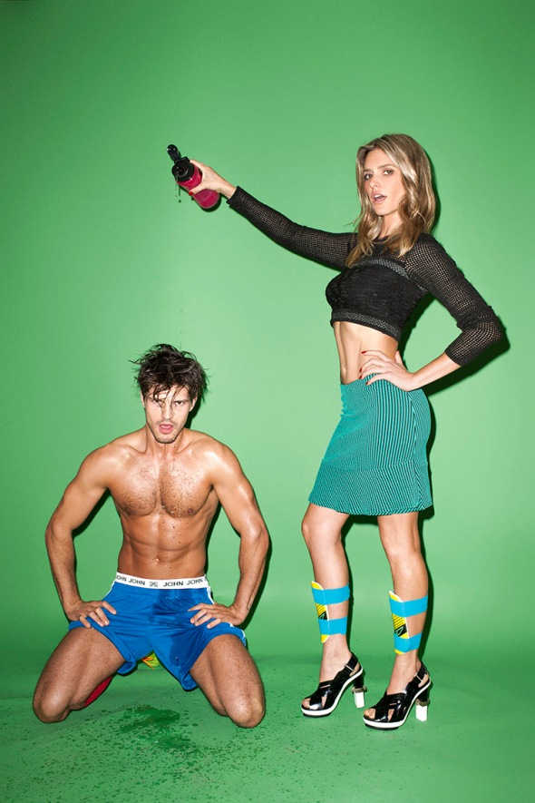 Diego Miguel + Fernanda Lima @ Glamour by Terry Richardson 03