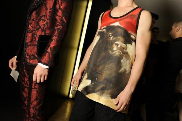 Dolce & Gabbana SS15 Milano @ Backstage 08