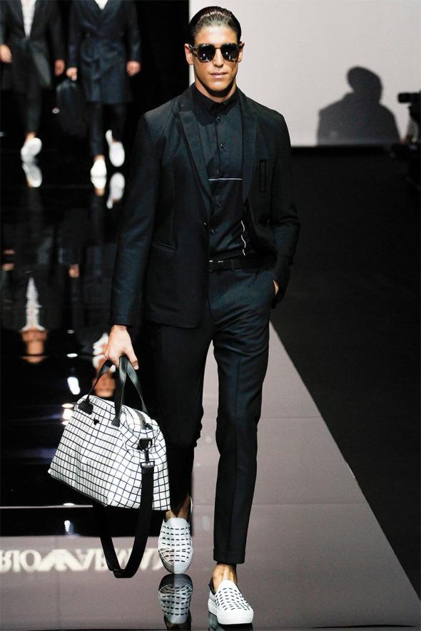 Emporio Armani SS15 @ Milano Moda Uomo 01