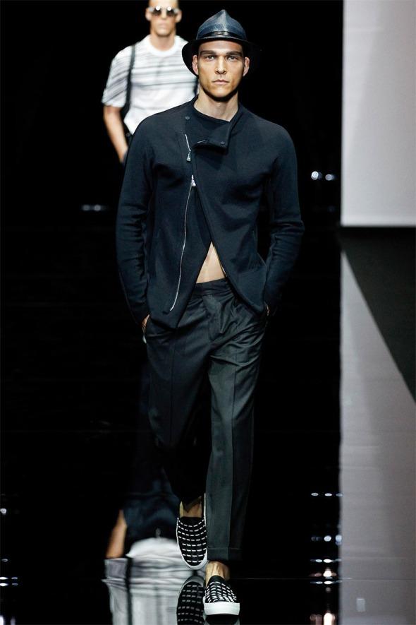Emporio Armani SS15 @ Milano Moda Uomo 02
