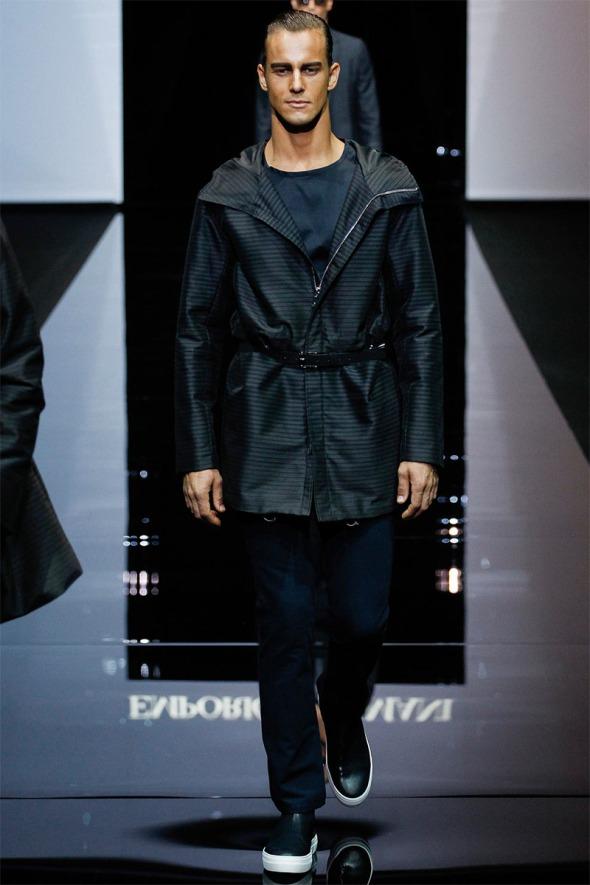 Emporio Armani SS15 @ Milano Moda Uomo 03