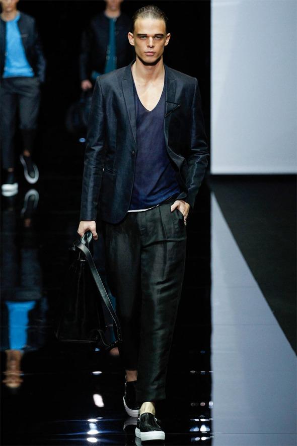Emporio Armani SS15 @ Milano Moda Uomo 04