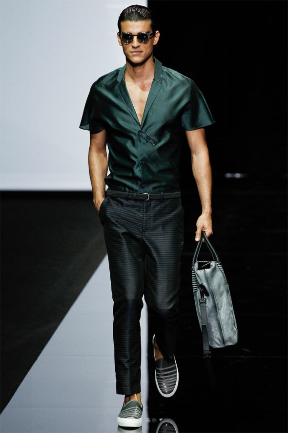 Emporio Armani SS15 @ Milano Moda Uomo 05