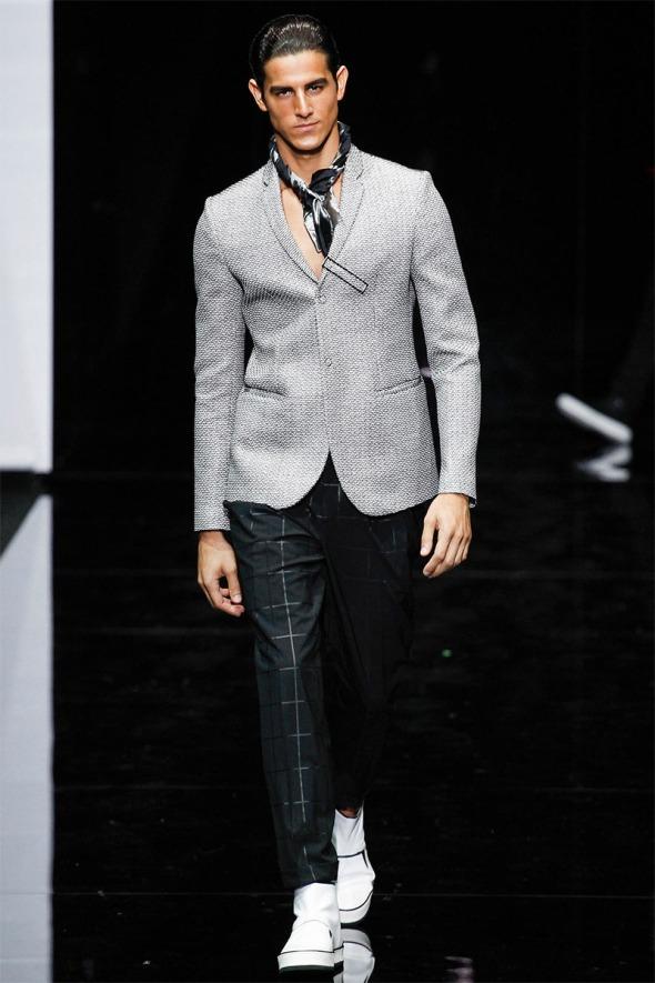 Emporio Armani SS15 @ Milano Moda Uomo 06