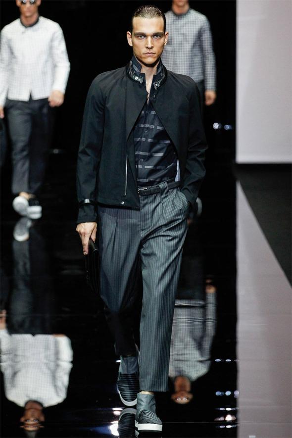 Emporio Armani SS15 @ Milano Moda Uomo 08