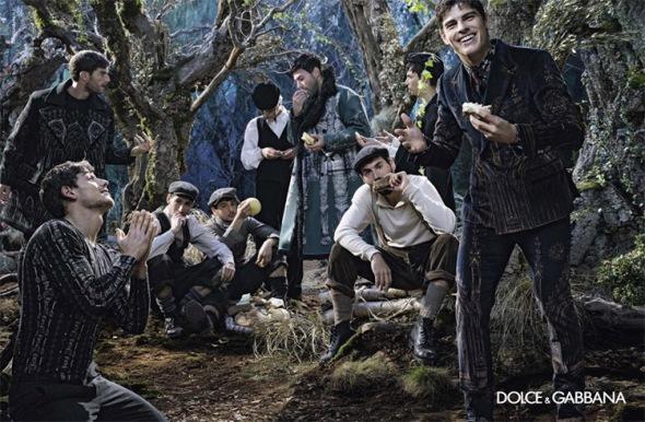 Evandro Soldatti @ Dolce & Gabbana FW15 01