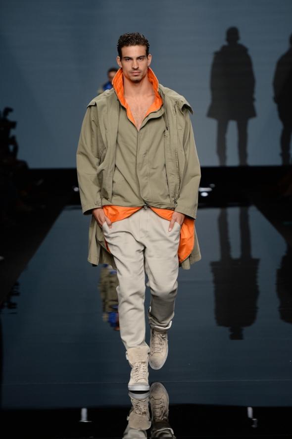 Gabriel Burger @ Ermanno Scervino SS15 Milano Moda Uomo