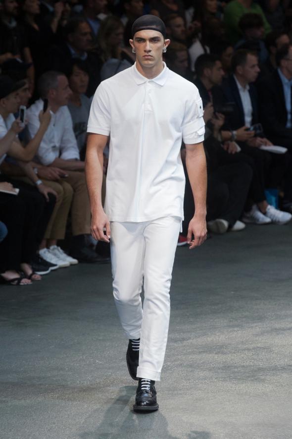 Lucas Cantão @ Givenchy SS15 Paris Prêt-à-Porter