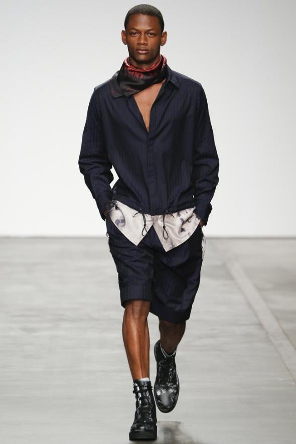 Lucas Cristino @ Iceberg SS15 Milano Moda Uomo
