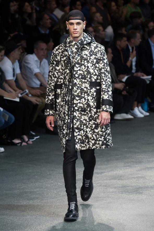 Lucas Loyola @ Givenchy SS15 Paris Prêt-à-Porter