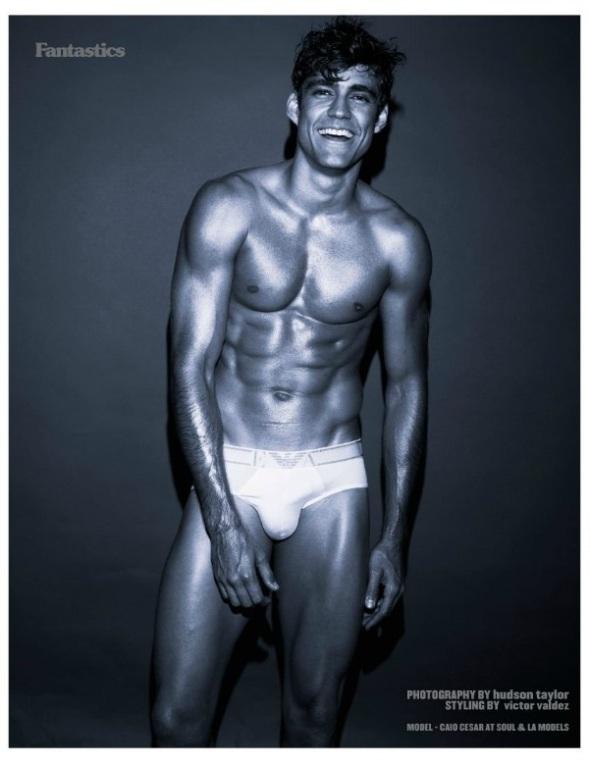 Caio Cesar @ Fantastics Mag by Hudson Taylor 01