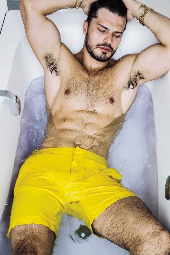 Diego Miguel @ Men's Weekly by Renie Saliba 02