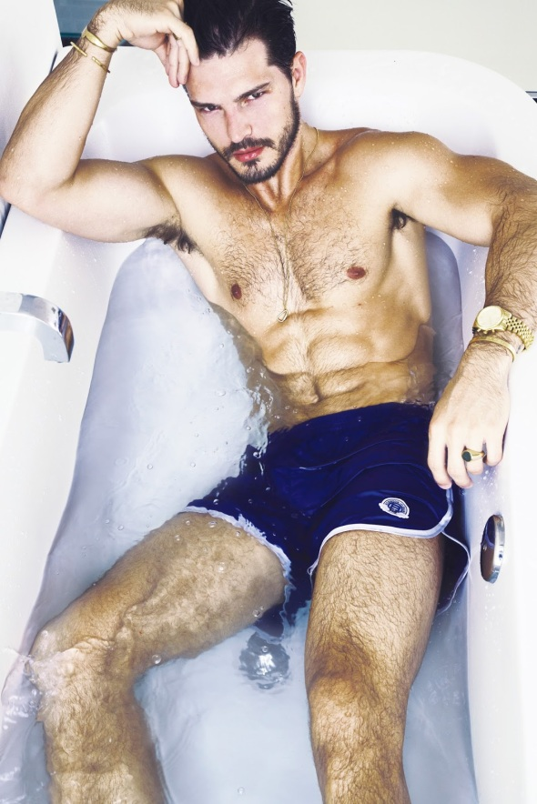 Diego Miguel @ Men's Weekly by Renie Saliba 06