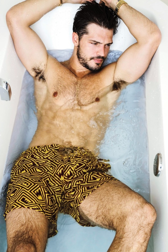 Diego Miguel @ Men's Weekly by Renie Saliba 09