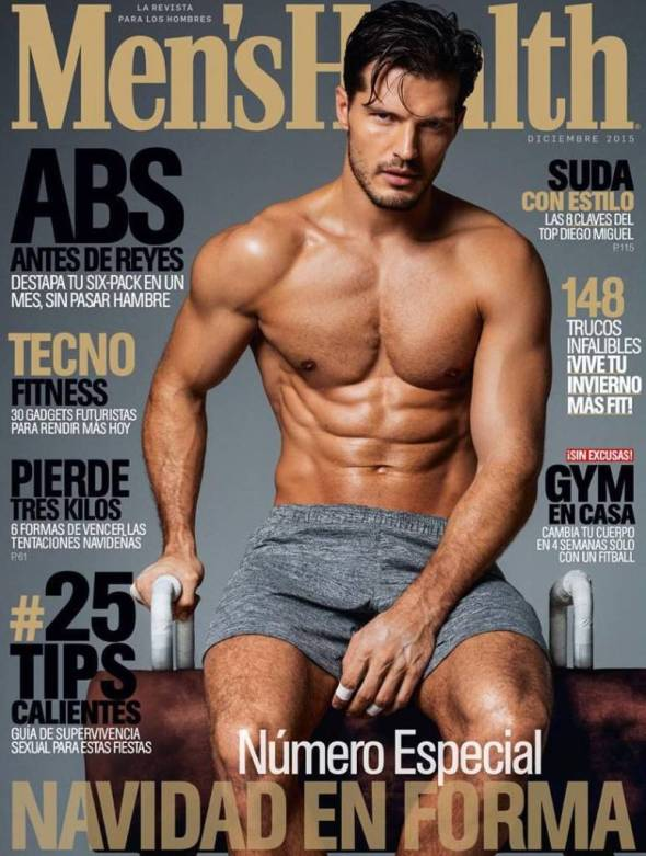 Diego Miguel @ Men's Health España by Edu Garcia 02